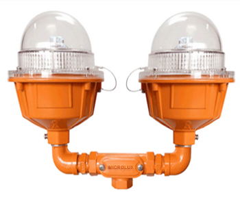 LI-03-DB Double Aircraft Warning Light
