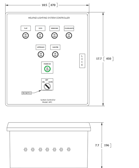 Helipad System Controller