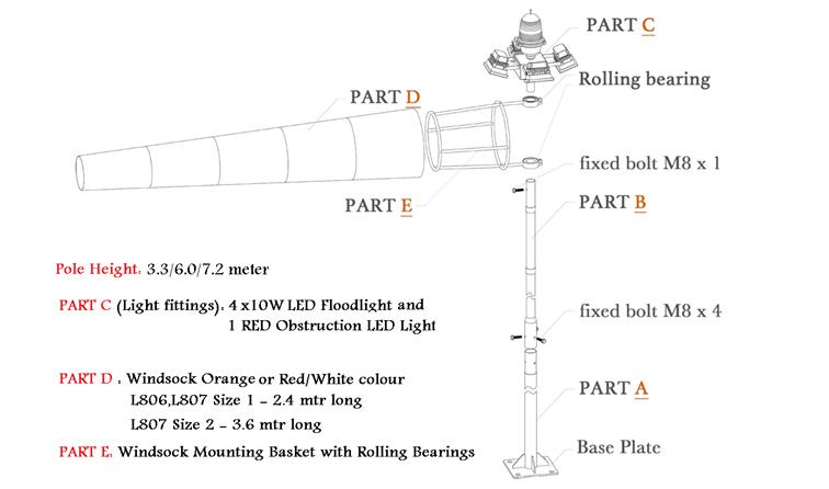 Windcone HL-WC-L806/L807