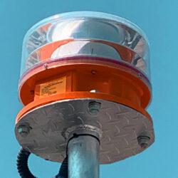Dual Medium Intensity Aircraft Warning Light